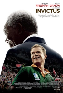 official poster of Clint Eastwood's 'Invictus'